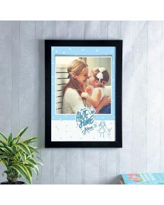 Mom Lover Photo Frame A3
