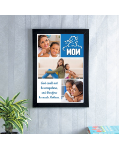 Mother Personalized Photo Frame A3