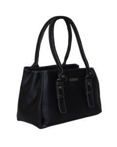 Black Coloured Women's Shoulder Bag