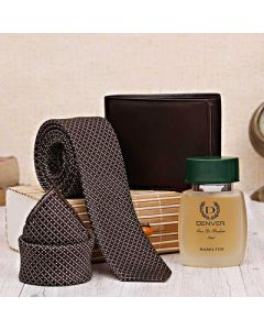 Denver Perfume With Tie-Pocket Square & Wallet