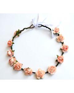 Buy Orange Rose Tiara Head Band Online
