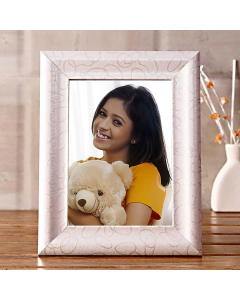 Picture With White Photo Frame