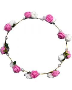 Buy Beautiful Pink & White Coloured Tiara Online