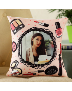 Pretty Personalised Cushion For Her