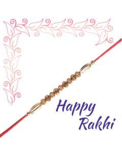 Send Golden Rakhi Online