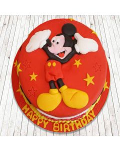 Buy Mickey Mouse Theme Cake Online