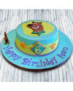 Buy Scooby-Doo Theme Cake Online