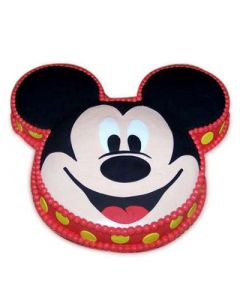 Soft Mickey Face Cake