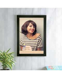 Stylist With Black Photo Frame