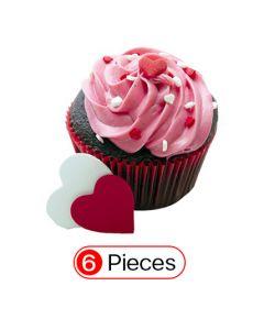 Sweetheart Cupcake (6 Cup)