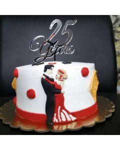 Anniversary Memories Celebrate Cake
