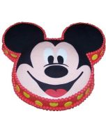 Mickey Mouse (Face) Cake