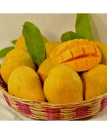Send Mangoes decorated in Basket Online