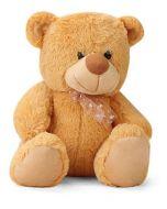 Huggable Beige Teddy Bear