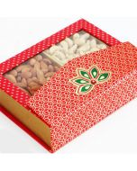 Buy Pink Designer Dryfruit Bites Box Online