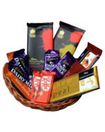 Valentine Chocolate Basket