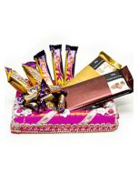 Valentine Special Chocolate Gifts Hamper