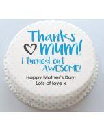 Thanks Mom Cake