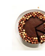 Chocolate Hazelnut Brownie Cake