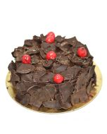 Exotic Black Forest Round Cake