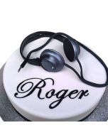 Headphone Cake