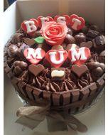 Best Mom Kitkat Cake