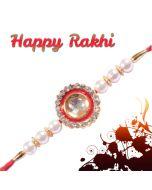 Send Diamond Pendent Rakhi Combo Online
