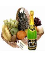 Fresh Fruits Basket 4Kg with Juice