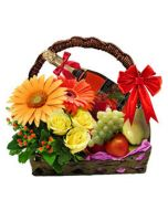 Special Combo with flowers, Fruit & Fruit Juice