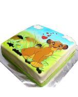 Simba Picture Cake