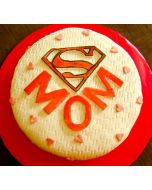 Mother's Day Supermom Cake
