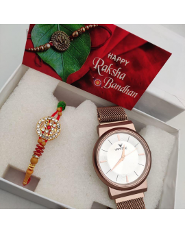 Rakhi with Watch Set for Bhaiya